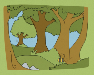 video still from the animation about natural capital produced by National Grid and AECOM