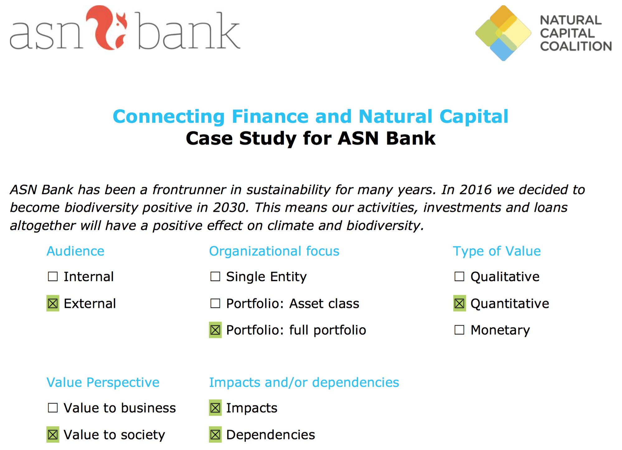 Capital City Bank Case Study